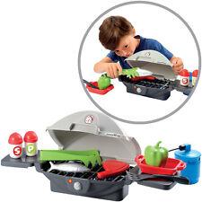 Ecoiffier Barbeque Tischgrill mit Zubehör Grill Kindergrill Kinder Spielzeug NEU