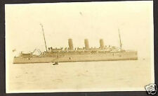 AMERICAN PHOTO CANADIAN STEAMER RUSSIA RED CROSS 1917