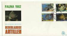 A FDC FROM THE NETHERLANDS ANTILLES 1982 'FISH'