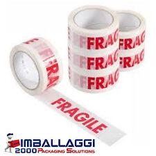 Nastro adesivo Scotch FRAGILE imballaggio 50x66 12 pz
