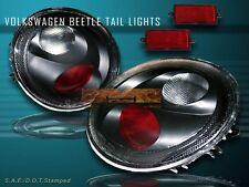 98-05 VOLKSWAGEN BEETLE ALTEZZA TAIL LIGHTS JDM BLACK REAR BRAKE LAMPS