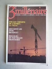 N° 19 MARS AVRIL 1985 3e MILLENAIRE SUR LES CHEMINS DE L'ESPRI LES OVNI BIOLOGIE