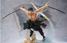 One Piece Figuarts ZERO Roronoa Zoro Battle Ver. Rengoku Action Figure Toy Doll
