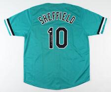 Gary Sheffield Signed Florida Marlins Jersey (PSA COA) 1997 World Series Champ