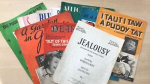 Vintage Sheet Music - Pick Your Own Bundle! Discount for Multiples!