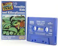 TKKG 105 Vermißte Kids und Killerpflanzen Europa logo blau Hörspiel MC
