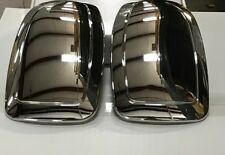 1999-2006 Chevrolet Silverado GMC Sierra Chrome Mirror Covers Overlays NEW