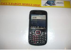 Samsung Omnia Pro B7330 - Pearl black (Unlocked) Smartphone