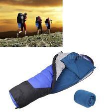 Polar Fleece Sleeping Bag Outdoor Camping Hiking Multifuntion Ultra-light C2K8