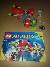 Lego Atlantis Wreck Raider 8057 COMPLETE w/ instructions no box