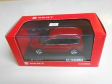 COCHE SEAT ALHAMBRA SALSA RED  1/43 1:43 IXO MODEL CAR IN BOX MINIATURA ROJO