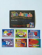 Reusable Magnetic Chore System Job Joggas Get Ready 4 School Pack 6 Magnets