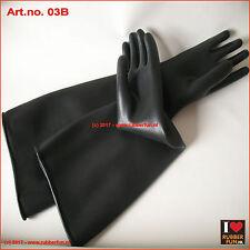 Rubber gloves 60 cm - industrial - heavy duty