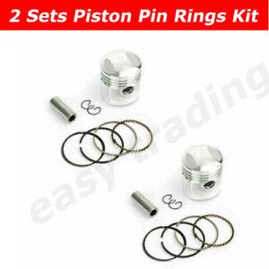 Standard Piston Rings Pin Kit 44mm For Honda CA125 CM125 CD125T CBT125 CB125T