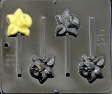 Daffodil Lollipop Chocolate Candy Mold 3451 NEW