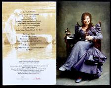 2010 Original LORETTA LYNN Signed AUTOGRAPH on 50th ANNIVERSARY Photo Booklet