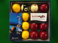 """* SUPERPOOL * The Professional ARAMITH PROCUP TV Tournament 2"""" Red And Yellows"""