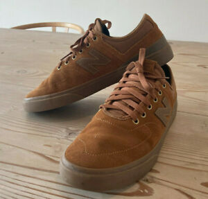 New Balance Numeric 379 skate shoes - brown/gum, size US 11/UK 10.5