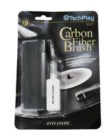TechPlay IEP7 Vinyl Record Cleaning Kit Carbon Fiber Brush Anti Static Clean NEW