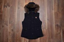 Polo Jeans Ralph Lauren PRL Women's Fur Winter Down Vest Gilet M Black VGC