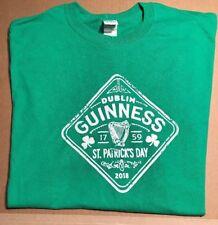 NEW* GUINNESS SHIRT, GREEN, MEN'S XL,  ST. PATRICK'S DAY, HARP LOGO, IRISH, BEER