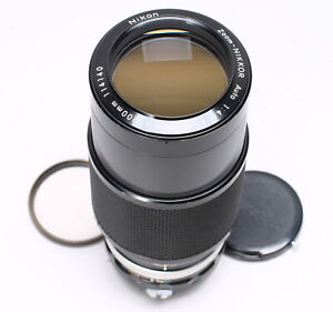 NIKON ZOOM-NIKKOR 80-200MM F/4.5 NON-AI F Mount LENS No. 114140
