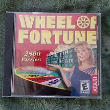 Wheel of Fortune Atari PC Game Win 95/98