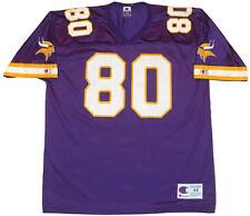 UNWORN Vtg 90s NFL Jersey XL CRIS CARTER MINNESOTA VIKINGS throwback randy moss