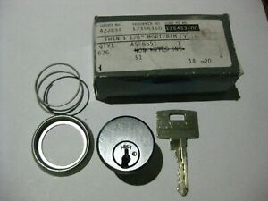 """Assa Twin 6000 Mortise Cylinder w/ 1 Key. 1-1/8"""". UL Certified. High Security."""