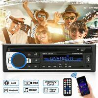 12-24V Car Radio bluetooth Stereo In-Dash IHead Unit Player MP3 USB Aux Input FM