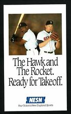 1993 Boston Red Sox Schedule--NESN--Roger Clemens/Andre Dawson