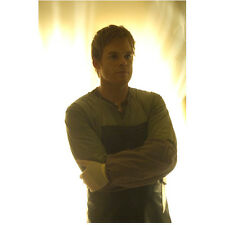 Dexter Michael C. Hall arms crossed in rubber apron 8 x 10 Inch Photo