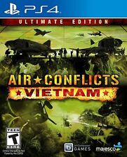 New! Air Conflicts: Vietnam PlayStation 4 PS4 Free Shipping Simulation War