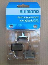 Shimano B01S Bremsbelag / Belag /Bremsbeläge Resin mit Feder & Splint, OVP, NEU