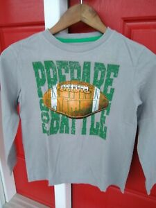 OLD NAVY Boys' Multi 100% Cotton Long Sleeve T-shirt,  size 6/7