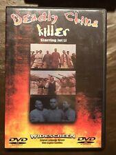Deadly China Killer (Deadly China Hero) Dvd Movie, Jet Li, English Subtitles
