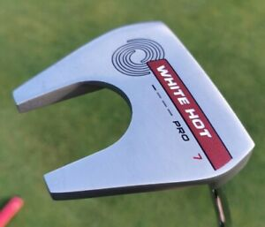 Odyssey White hot pro number 7 35 inch putter with Headcover