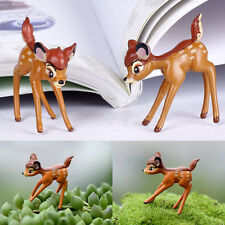 Deer Miniature Sprite Fairy Garden Terrarium Doll House Figurine Statue Decor
