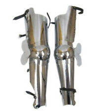 Full Leg Armor Set Medieval Knight Crusader Spartan Steel Armer Larp SCA Armour