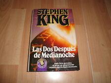 LAS DOS DESPUES DE MEDIANOCHE LIBRO DE STEPHEN KING 1ª EDICION DEL AÑO 1991