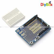 UNO Arduino Prototyping Prototype Shield ProtoShield Module + Mini Breadboard