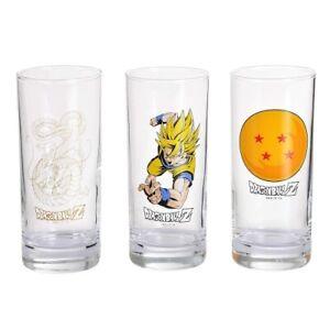 Dragon Ball - 3 Gläser Set