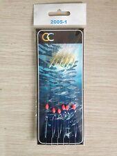 5X6HOOKS 2005-1Sabiki Fish Skin Glitter Mackerel hockeye sea lure Sea hokki rigs