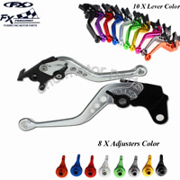 réglable LEVIERS COURTS FREIN EMBRAYAGE KIT POUR YAMAHA YZF R1 1999-01 2000