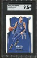 2018-19 Luka Doncic Panini Threads #141 Rc Rookie SGC 9 Mint