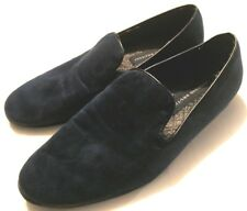 Giorgio Brutini  Mens Blue Slip On Fabric Loafers Shoes 10.5 M