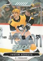 2019-20 Upper Deck MVP Hockey Puzzle Back Parallel #169 Justin Schultz