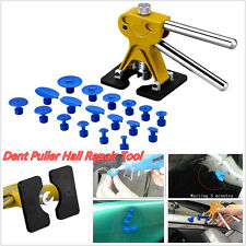 DIY Portable Car Paintless Dent Lifter Puller Hail Damage Repair Tool & 18 Tabs