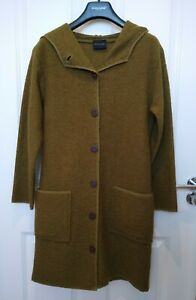 Bitte Kai Rand Autumn Wear Pure Wool Coat. Small /10-12 Olive Green. New