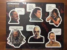 The Walking Dead Supply Drop Exclusive Mobile Sticker Collection